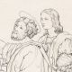 DETAILS 04 | Italian Renaissance - Madonna - Saint Luke Painting the Virgin and the Infant Jesus (Raffaello Sanzio or Raphael)