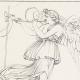 DETAILS 04   Roman / Greek Mythology - Goddess - Italian Renaissance - Alegorical Deities With Their Attributes (Raffaello Sanzio called Raphael)