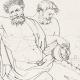 DETAILS 05 | Greek Mythology - Greek Gods - Satyrs - Italian Renaissance - Silenus, Companion of the Wine-god Dionysus (Raffaello Sanzio called Raphael)