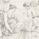 DÉTAILS 04 | Mythologie - Renaissance Italienne - Les Amours de Psyché et de Cupidon (Eros) : Psyché Conduite au Rocher (Raffaello Sanzio dit Raphaël)