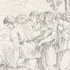 DÉTAILS 05 | Mythologie - Renaissance Italienne - Les Amours de Psyché et de Cupidon (Eros) : Psyché Conduite au Rocher (Raffaello Sanzio dit Raphaël)