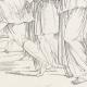 DÉTAILS 08 | Mythologie - Renaissance Italienne - Les Amours de Psyché et de Cupidon (Eros) : Psyché Conduite au Rocher (Raffaello Sanzio dit Raphaël)