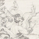 DETAILS 04   Italian Renaissance - Bible - God Appears to Moses in the Burning Bush (Raffaello Sanzio or Raphael)