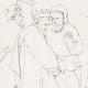 DETAILS 04 | Greek Mythology - Greek Gods - Italian Renaissance - Silenus Brought by Two Satyrs Before the King Midas (Raffaello Sanzio called Raphael)