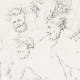 DETAILS 05 | Greek Mythology - Greek Gods - Italian Renaissance - Silenus Brought by Two Satyrs Before the King Midas (Raffaello Sanzio called Raphael)