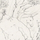 DETAILS 06 | Greek Mythology - Greek Gods - Italian Renaissance - Silenus Brought by Two Satyrs Before the King Midas (Raffaello Sanzio called Raphael)