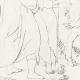 DETAILS 08 | Greek Mythology - Greek Gods - Italian Renaissance - Silenus Brought by Two Satyrs Before the King Midas (Raffaello Sanzio called Raphael)