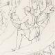 DÉTAILS 04 | Mythologie Romaine - Dieux - Déesses - Renaissance Italienne - Jupiter Accompagné de Junon Va Prendre Possession du Trône Céleste (Raffaello Sanzio dit Raphaël)
