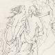 DÉTAILS 06 | Mythologie Romaine - Dieux - Déesses - Renaissance Italienne - Jupiter Accompagné de Junon Va Prendre Possession du Trône Céleste (Raffaello Sanzio dit Raphaël)