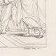 DETAILS 03   IN-FOLIO (Raisin / Grape) - Greek Mythology - Ancient Greece - Italian Renaissance - The School of Athens, or Philosophy (Raffaello Sanzio called Raphael)