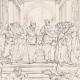 DETAILS 04   IN-FOLIO (Raisin / Grape) - Greek Mythology - Ancient Greece - Italian Renaissance - The School of Athens, or Philosophy (Raffaello Sanzio called Raphael)