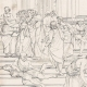 DETAILS 06   IN-FOLIO (Raisin / Grape) - Greek Mythology - Ancient Greece - Italian Renaissance - The School of Athens, or Philosophy (Raffaello Sanzio called Raphael)