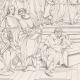 DETAILS 07   IN-FOLIO (Raisin / Grape) - Greek Mythology - Ancient Greece - Italian Renaissance - The School of Athens, or Philosophy (Raffaello Sanzio called Raphael)
