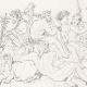 DÉTAILS 05 | IN-FOLIO (Raisin) - Mythologie - Renaissance Italienne - Les Amours de Psyché et de Cupidon (Eros) : Noces de Psyché / Apothéose de Psyché (Raffaello Sanzio dit Raphaël)