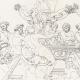 DÉTAILS 06 | IN-FOLIO (Raisin) - Mythologie - Renaissance Italienne - Les Amours de Psyché et de Cupidon (Eros) : Noces de Psyché / Apothéose de Psyché (Raffaello Sanzio dit Raphaël)