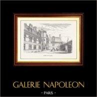 Vue de Paris - Monuments Historiques de Paris - Hôtel de Cluny