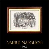Vue de Paris - Monuments Historiques de Paris - Bal - Jardin Mabille