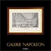 Gezicht op Parijs - Historische monumenten van Parijs - Hôtel de Ville - Bal in het stadhuis van Parijs