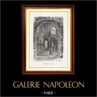 View of Paris - Historical Monuments of Paris - Thermae of Julian the Apostate - Thermes de Julien - Palais des Thermes de Cluny