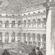 DÉTAILS 06   Vue de Paris - Monuments Historiques de Paris - Palais Brongniart - Intérieur de la Bourse de Paris