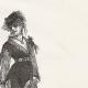 DETAILS 05   View of Paris - Historical Monuments of Paris - Mode - 19th Century Parisian Women's Fashion (Ball - Bal Mabille)