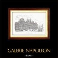 Vista de París - Monumentos Históricos de París - Hôtel de Ville - Ayuntamiento de París