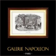 View of Paris - Historical Monuments of Paris - Art Gallery - Galerie Goupil