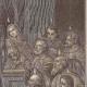 DÉTAILS 06   La Pentecôte - Le Cénacle de Jérusalem - Sainte Vierge Marie - Apôtres et Disciples