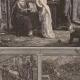 DÉTAILS 02   Sainte Anne Apprenant à Lire à la Sainte Vierge Marie - Saint Joachim - Anges