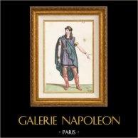 Gaul - Costume of a Gaulish - Opera Pharamond by Berton, Boieldieu and Kreutzer (Paris, 1825)