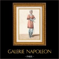 Galia - Traje de Galo - Ópera Pharamond (Faramundo) de Berton, Boieldieu y Kreutzer (París, 1825)