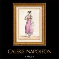 Gaul - Kostuum van een Gallische - Isule - Melle Jawureck - Opera Pharamond door Berton, Boieldieu en Kreutzer (Parijs, 1825)
