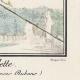 DÉTAILS 03   Gravure de Mode Française - Romantisme - Chapeau de Paille Brodé sans Rubans - L'Escarpolette