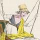 DÉTAILS 04   Gravure de Mode Française - Romantisme - Chapeau de Paille Brodé sans Rubans - L'Escarpolette