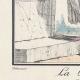 DÉTAILS 02 | Gravure de Mode Française - Romantisme - Robe Croisée - La Phrase Changée