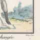 DÉTAILS 03 | Gravure de Mode Française - Romantisme - Robe Croisée - La Phrase Changée