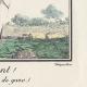 DÉTAILS 03 | Gravure de Mode Française - Romantisme - Fichu Noir et Tablier de Gaze - Ah Quel Vent !