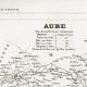 DÉTAILS 04 | Carte du Département de l'Aube (France)