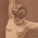 DETAILS 04 | Art Nude - Erotic Art - The Woman with the Bird  (Ernst Philippe Zacharie)