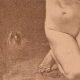 DETAILS 07 | Art Nude - Erotic Art - The Woman with the Bird  (Ernst Philippe Zacharie)