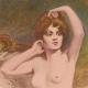 DÉTAILS 04   Nu Artistique - Nu Féminin - Érotisme - Le Lever (Etienne Joannon-Navier)