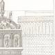 DÉTAILS 04 | Dessin d'Architecte - Architecture - L'Arc Triomphal d'Alphonse au Château Neuf - Castel Nuovo de Naples