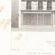 DÉTAILS 01   Dessin d'Architecte - Architecture - Maison de Rapport - Immeuble Avenue Duquesne à Paris (M. P. Vigouroux)