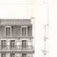 DÉTAILS 04   Dessin d'Architecte - Architecture - Maison de Rapport - Immeuble Avenue Duquesne à Paris (M. P. Vigouroux)