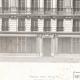 DÉTAILS 05   Dessin d'Architecte - Architecture - Maison de Rapport - Immeuble Avenue Duquesne à Paris (M. P. Vigouroux)