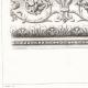 DETAILS 01   Drawing of Architect - Architecture - Theater - Théâtre du Vaudeville - Boulevard des Capucines in Paris (M. Magne)