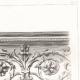 DETAILS 04   Drawing of Architect - Architecture - Theater - Théâtre du Vaudeville - Boulevard des Capucines in Paris (M. Magne)