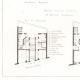 DÉTAILS 01   Dessin d'Architecte - Architecture - Maison de Rapport à Paris - Boulevard Magenta (M. Sevestre) - Rue de Rennes (M. Delarue) - Avenue Villars (M.Marcel) - Rue des Halles (M. Blond