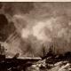DÉTAILS 02 | Paysage d'Hiver (Jacob van Ruisdael) - La Tempête (Jacob van Ruisdael)