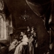 DETAILS 01   The Dropsical Woman (Gerard Dou) - The Night School (Gerard Dou)